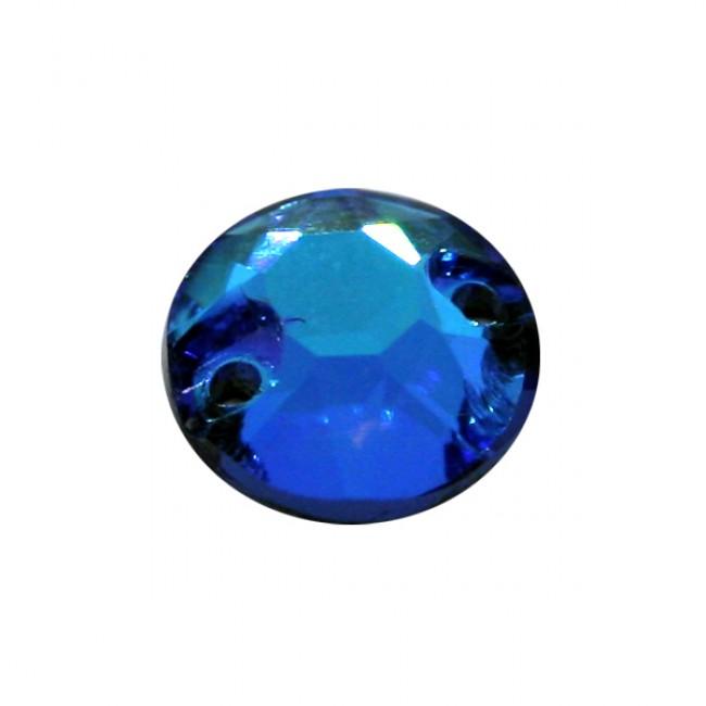 Blue AB Fluor Rose World Stone