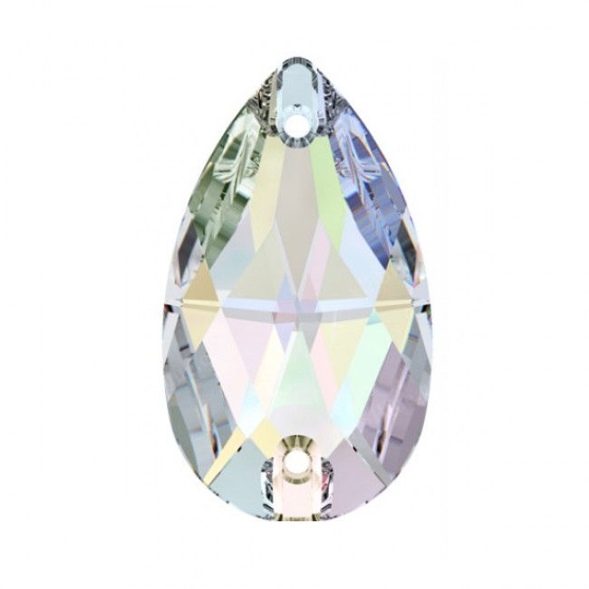 Crystal AB 3230 Pear Shape Swarovski