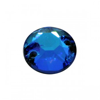 Blue AB Fluor Rose World Stone