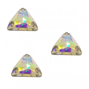 Crystal AB Triangle DMC