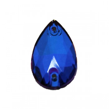 Violet Blue Drop World Stone