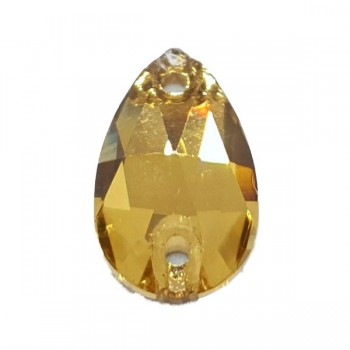 Light Colorado Topaz Drop World Stone