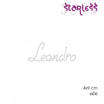 Transfer Nome Desenhado 8x4 World Stone