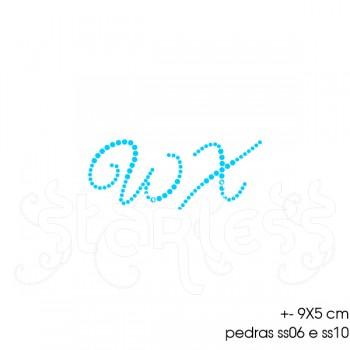 Transfer Monograma Desenhado 9x5 DMC