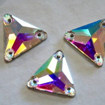 Crystal AB Triangle DMC