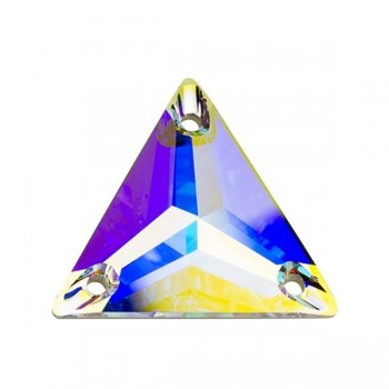 Crystal AB 3270 Triangle Swarovski