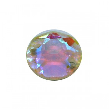 White AB Fluor Rose World Stone